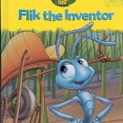 DISNEY PIXAR A BUG'S LIFE FLIK THE INVENTOR VOLUME 1 1998 CHILDREN'S HARDBACK BOOK NEAR MINT