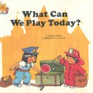 WHAT CAN WE PLAY TODAY by JANE BELK MONCURE 1988 # 2 CHILDREN'S HARDBACK BOOK NEAR MINT