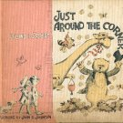 JUST AROUND THE CORNER by LELAND B. JACOBS 1964 CHILDREN'S HARDBACK BOOK GOOD CONDITION