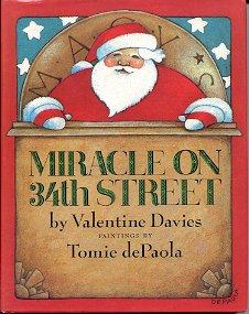 MIRACLE ON 34TH STREET by VALENTINE DAVIES 1998 CHILDREN'S HARDBACK BOOK NEAR MINT