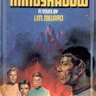 STAR TREK # 27 MINDSHADOW  by J.M. DILLARD 1986  PAPERBACK BOOK VERY GOOD CONDITION