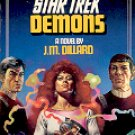 STAR TREK # 30 DEMONS by J.M. DILLARD 1986  PAPERBACK BOOK VERY GOOD CONDITION