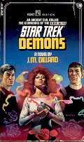 STAR TREK # 30 DEMONS by J.M. DILLARD 1986  PAPERBACK BOOK VERY GOOD CONDITION