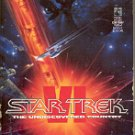 STAR TREK VI - THE UNDISCOVERED COUNTRY by J.M. DILLARD 1992 PAPERBACK BOOK NEAR MINT