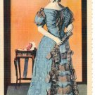 DRESS OF SARAH CHILDRESS POLK U.S. NATIONAL MUSEUM SMITHSONIAN INSTITUTE LINEN POSTCARD #30 UNUSED