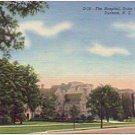 THE HOSPITAL DUKE UNIVERSITY DURHAM NORTH CAROLINA LINEN POSTCARD #64 USED IN 1949