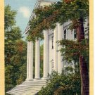 RHODODENDRON HALL RIDGECREST BAPTIST ASSEMBLY RIDGECREST N.C. LINEN POSTCARD #109 USED 1950