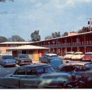 EASTERN HILLS MOTOR HOTEL DALLAS TEXAS REAL PICTURE POSTCARD #123 USED 1959