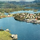 BRONNOYSUND NORWAY COLOR PICTURE POSTCARD #248 UNUSED