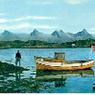 THE SEVEN SISTERS NORWAY COLOR PICTURE POSTCARD #260 UNUSED