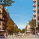 ZURICH BAHNHOFSTRASSE COLOR PICTURE POSTCARD #266 UNUSED