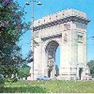 THE ARCH OF TRIUMPH  BUCUREST  ROMANIA COLOR PICTURE POSTCARD #289 UNUSED