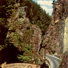 HOLLENTAL IM SCHWARZWALD - HIRSCHSPRUNG - GERMANY COLOR PICTURE POSTCARD #308 UNUSED