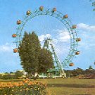 THE PRATER AND THE GIANT WHEEL - WIEN - VIENNA SWITZERLAND COLOR PICTURE POSTCARD #318 UNUSED
