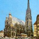 WIEN - STEPHANSPLATZ - VIENNA SWITZERLAND COLOR PICTURE POSTCARD #323 UNUSED