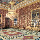 ROYAL PALACE OFFICIAL CHAMBER MADRID SPAIN COLOR PICTURE POSTCARD #354 UNUSED