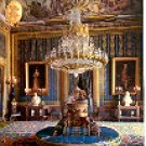 ROYAL PALACE - GASPARINI'S ANTECHAMBER MADRID SPAIN COLOR PICTURE POSTCARD #356 UNUSED