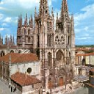 BURGOS  CATHEDRAL  EDICIONES SICILIA SPAIN COLOR PICTURE POSTCARD #367 UNUSED