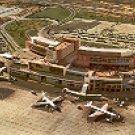 BARAJAS AIRPORT MADRID SPAIN COLOR PICTURE POSTCARD #383 UNUSED