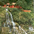 EVER SPRING SHRINE TAIWAN COLOR PICTURE POSTCARD #385 UNUSED