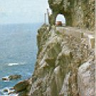 CLIFF OF CHENG-SUI ON SU-HWA HIGH WAY TAIWAN COLOR PICTURE POSTCARD #386 UNUSED
