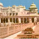 JAIPUR RAM BAGH PALACE INDIA COLOR PICTURE POSTCARD #422 UNUSED