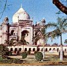 SAFDARJUNG'S TOMB THE LAST MUGHAL MONUMENT IN DELHI INDIA COLOR PICTURE POSTCARD #423 UNUSED