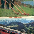 TEN DIFFERENT VIEWS OF LUCERNE & OTHER AREAS OF SWITZERLAND COLOR PICTURE POSTCARD #473 UNUSED