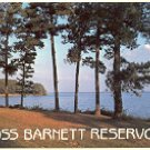ROSS BARNETT RESERVOIR JACKSON MISSISSIPPI COLOR PICTURE POSTCARD #485 UNUSED