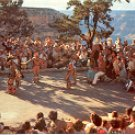 INDIAN DANCES GRAND CANYON NATIONAL PARK ARIZONA COLOR PICTURE POSTCARD #503 UNUSED
