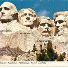 MOUNT RUSHMORE NATIONAL MEMORIAL SOUTH DAKOTA COLOR POSTCARD #537 UNUSED 1978