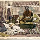BLANKET WEAVERS THE PAINTED DESERT SAN DIEGO PANAMA-CALIFORNIA EXPO COLOR POSTCARD #528 UNUSED