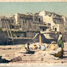 PUEBLO VILLAGE THE PAINTED DESERT SAN DIEGO PANAMA-CALIF EXPO COLOR POSTCARD #529 UNUSED H-1032