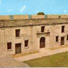 CHAPEL & NORTH WALL CASTILLO DE SAN MARCOS NATL MONUMENT ST. AUGUSTINE FL COLOR POSTCARD #533 UNUSED