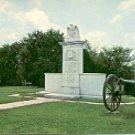 HARRISBURG BATTLE MONUMENT TUPELO MISSISSIPPI COLOR POSTCARD #553 UNUSED NEAR MINT