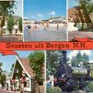 GROETEN UIT BERGEN N.H. NOORD-HOLLAND COLOR POSTCARD #588 UNUSED