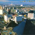 THE INCREDIBLE LAS VEGAS SKYLINE NEVADA WILLIAM CARR COLLECTION COLOR PICTURE POSTCARD #594 UNUSED