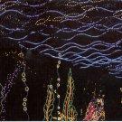 CHRISTMAS LIGHTS THE UNDERWATER GARDEN BELLINGRATH GARDENS MOBILE COLOR PICT POSTCARD #607 UNUSED