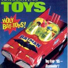 BACK ISSUE MAGAZINE: COLLECTING TOYS - HOLY BAT TOYS JUNE 1995 NEAR MINT