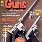 BACK ISSUE MAGAZINE: GUNS - HK DOUBLE DUTY GAMEGETTER  AUGUST 1982 NEAR MINT