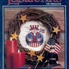 LEISURE ARTS THE MAGAZINE BACK ISSUE CRAFTS MAGAZINE 22 CRAFTS PROJECTS AUGUST 1992 MINT