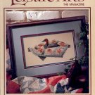 LEISURE ARTS THE MAGAZINE BACK ISSUE CRAFTS MAGAZINE 21 CRAFTS PROJECTS  OCTOBER 1993 MINT