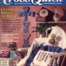 CROSS QUICK CROSS STITCH BACK ISSUE CRAFTS MAGAZINE FEBRUARY - MARCH 1990 MINT