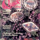 QUICK & EASY CROSS STITCH BACK ISSUE CRAFTS MAGAZINE JUNE - JULY 1990 MINT