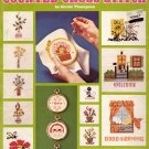 TEACH YOURSELF COUNTED CROSS STITCH BOOKLET by LEISURE ARTS 1975 CRAFT BOOK NEAR MINT