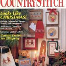 COUNTRY STITCH BACK ISSUE CRAFTS MAGAZINE ~ PREMIER COLLECTOR'S ISSUE CROSS STITCH 1990 NEAR MINT