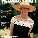CREATIVE IDEAS - NEEDLE & CRAFT JUNE 1989 BACK ISSUE CRAFT MAGAZINE NEAR MINT