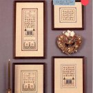 CROSS 'N PATCH A FRIEND LOVETH CROSS STITCH BOOKLET CRAFT BOOK 1986 NEAR MINT