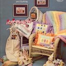 SUGAR PLUM FAIRY CROSS STITCH & QUILTING BOOKLET by VANESSA ANN COLLECTION 1981 NEAR MINT