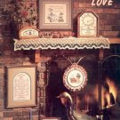 HOME GROWN LOVE BOOK 6 CROSS STITCH BOOKLET by STONEY CREEK 1984 NEAR MINT